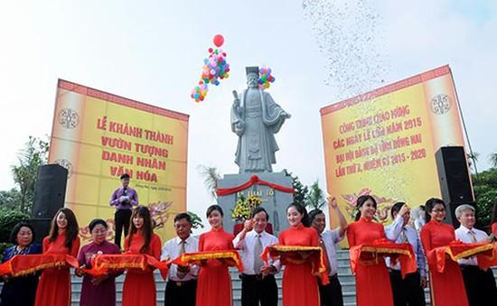 Đồng Nai: Khánh thành vườn tượng danh nhân văn hóa