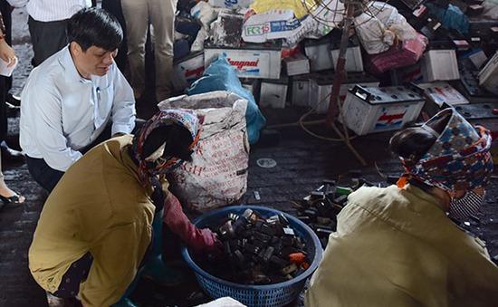 Gần 400 trẻ làng Đông Mai sẽ được thải độc chì