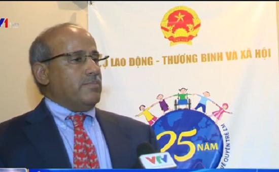 25 năm Việt Nam phê chuẩn Công ước LHQ về quyền trẻ em