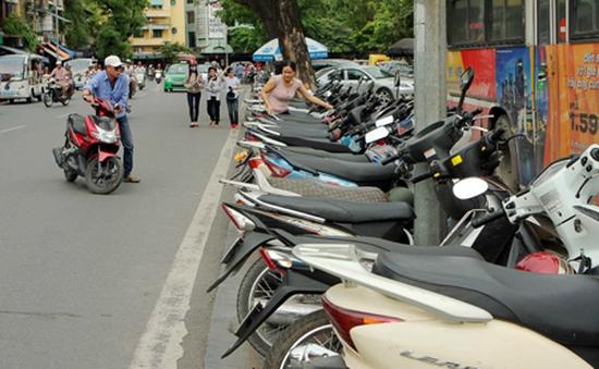 Hà Nội: Xử phạt các điểm thu phí giữ xe trái quy định