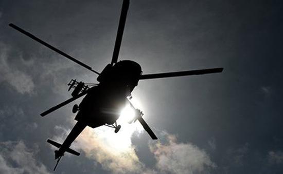 Trực thăng quân sự Venezuela rơi trên đất Colombia