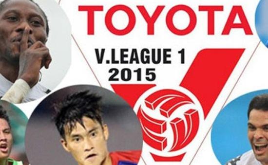 Lịch thi đấu và tường thuật vòng 9 V.League 2015