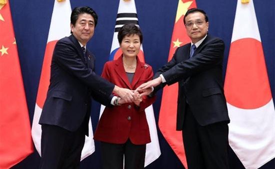 Nối lại hoàn toàn cơ chế hợp tác ba bên Đông Bắc Á