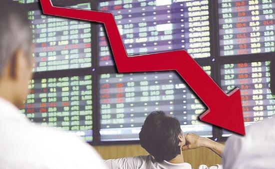 Vn-Index giảm gần 10 điểm, thị trường suy giảm mạnh