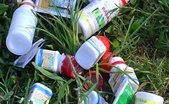 Nghệ An còn 628 điểm ô nhiễm do thuốc bảo vệ thực vật
