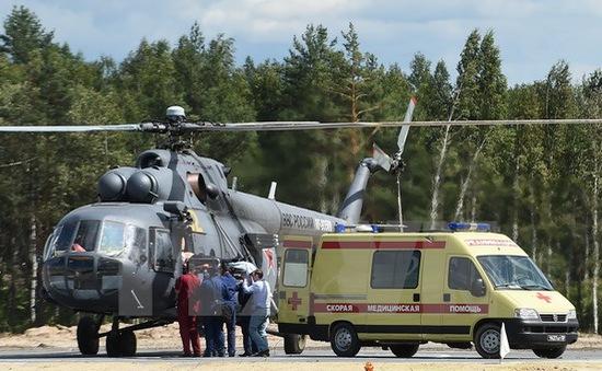 Trực thăng quân đội Nga rơi khi đang trình diễn, phi công thiệt mạng