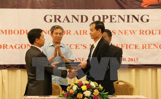 Angkor Air mở đường bay Phnom Penh - Vientiane -  Hà Nội
