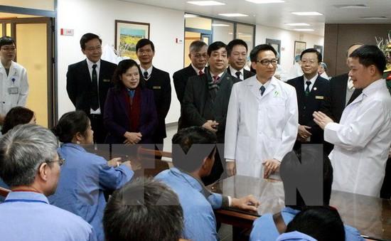 Khánh thành tòa nhà điều trị kỹ thuật cao Bệnh viện Lão khoa