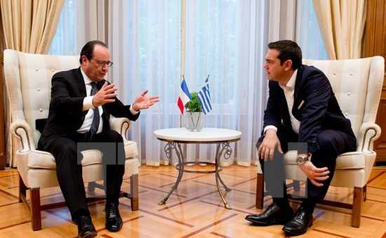 Tổng thống Pháp cam kết giúp Hy Lạp thực hiện cải cách