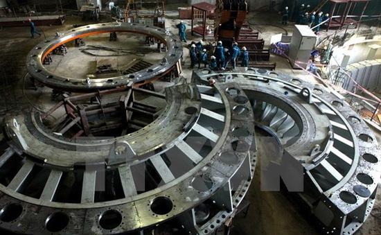 Chính thức hòa lưới điện tổ máy số 1 Thủy điện Lai Châu