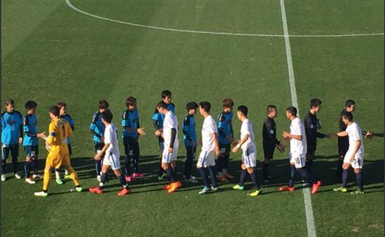 Tuấn Anh chơi trận đầu ở CLB Yokohama với đội dự Cúp thế giới