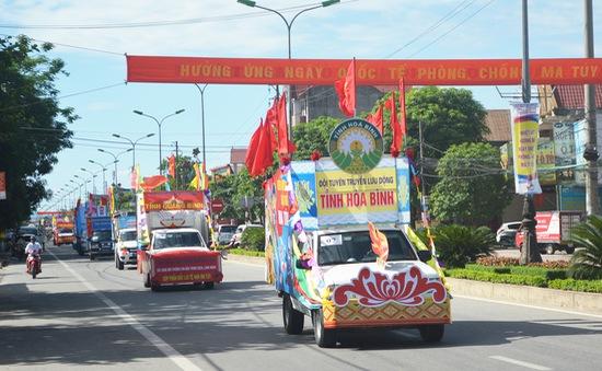 Liên hoan tuyên truyền lưu động phòng chống ma túy khu vực Đông Bắc Bộ