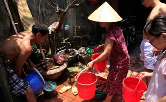 Hà Nội: Dự báo khu vực khó khăn về nước trong mùa Hè