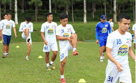 U21 HAGL giữ sức cho trận gặp U19 Hàn Quốc