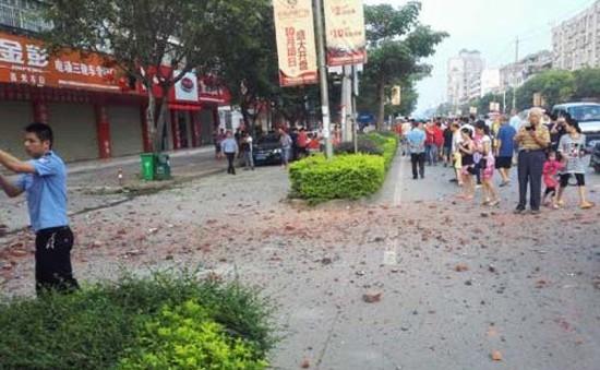 Lại thêm một vụ nổ bom ở Trung Quốc