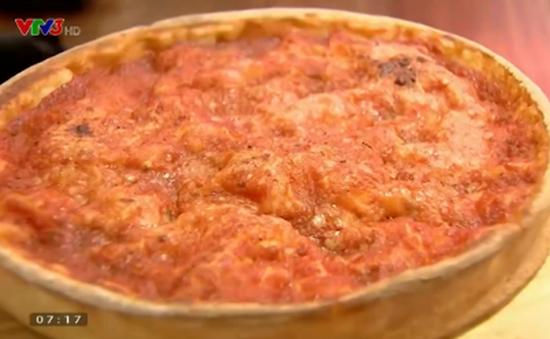 Cách làm Pizza Chicago Pepperoni thơm ngon