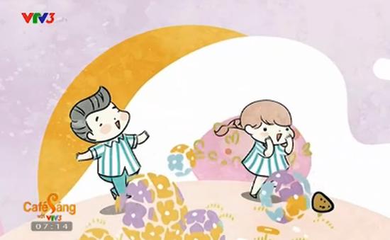 Các cặp đôi thích thú làm clip tình yêu bằng hình chibi