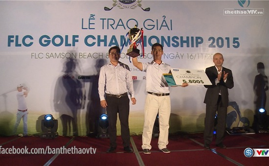 Golfer hàng đầu Việt Nam quy tụ trong ngày cuối giải FLC Championship