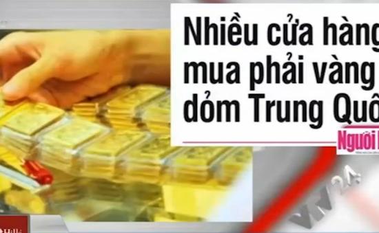 Điểm báo sáng 10/11: Nhiều cửa hàng mua phải vàng dỏm Trung Quốc
