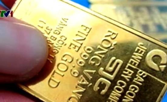 SJC chính thức hủy quy định thu phí vàng miếng 1 chữ