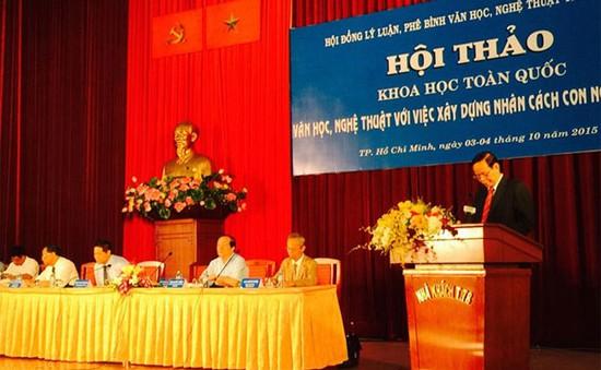 """""""Văn học, nghệ thuật với việc xây dựng nhân cách con người Việt Nam"""""""