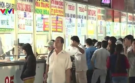 TP.HCM: Phụ thu giá vé xe Tết Bính Thân tăng 40% - 60%