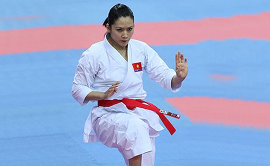 Karatedo Việt Nam giành HCV quyền đồng đội nữ tại giải vô địch châu Á