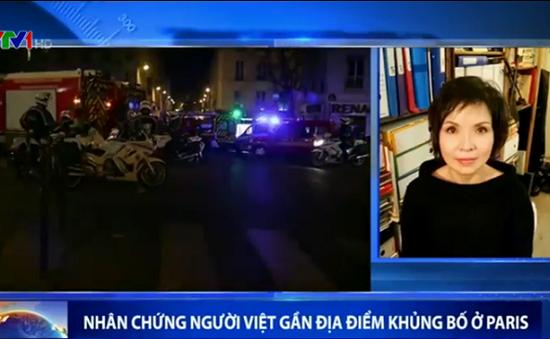Nhân chứng Việt kiều đau xót sau vụ khủng bố kinh hoàng tại Paris