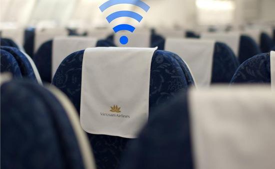 Vietnam Airlines sẽ thử nghiệm dịch vụ wifi trên máy bay