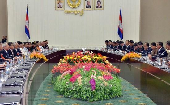 Thủ tướng Hun Sen tiếp Hội Hữu nghị Việt Nam - Campuchia