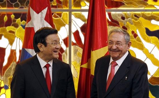 Chủ tịch nước kết thúc tốt đẹp chuyến thăm Mỹ và Cuba