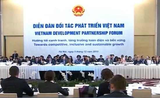 Thủ tướng Nguyễn Tấn Dũng chủ trì Diễn đàn đối tác phát triển Việt Nam