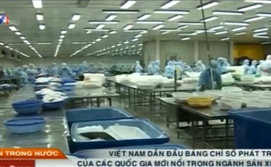 Việt Nam dẫn đầu BXH chỉ số phát triển của các quốc gia mới nổi