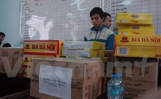 Hà Nội: Bắt nhóm trộm cắp ở siêu thị Metro