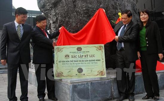 Công bố kỷ lục khối than nguyên khối lớn nhất Việt Nam