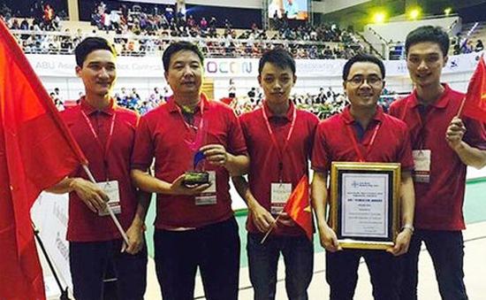 Hành trình tới chức vô địch ABU Robocon của đội tuyển Việt Nam