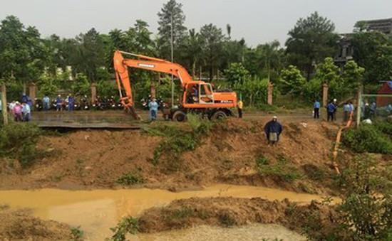 Đường ống nước sông Đà còn khả năng xảy ra sự cố?