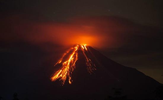 Núi lửa ở Mexico thức giấc