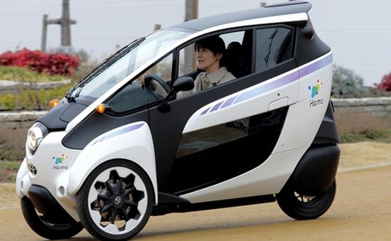 Nhật Bản: Cho thuê xe điện ba bánh để giảm ô nhiễm