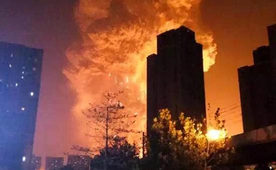 Trung Quốc: Điều tra 11 quan chức liên quan đến vụ nổ Thiên Tân