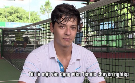 Vũ Artem – hot boy mới của làng quần vợt Việt
