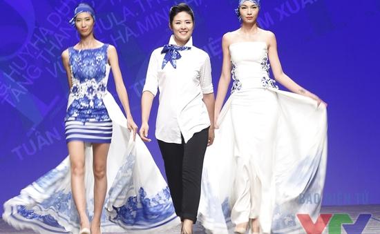 Ngọc Hân mở màn Tuần lễ thời trang Việt Nam Xuân Hè 2016