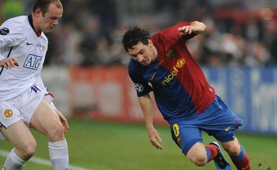 Messi bất ngờ tâng Rooney lên mây xanh