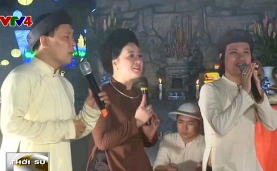 Lễ giỗ tổ nghề hát Xẩm đầu tiên tại Hà Nội