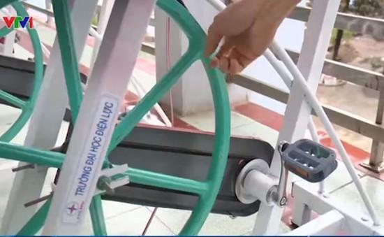 Xe đạp tập thể dục có khả năng... phát điện