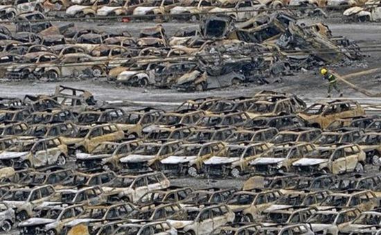 Vụ nổ ở Thiên Tân (Trung Quốc): Nhiều dây chuyền sản xuất ô tô đình trệ