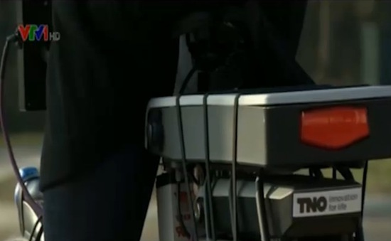 Xe đạp thông minh cảnh báo nguy hiểmgiao thông