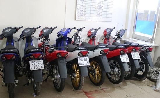 Triệt phá cơ sở sản xuất xe Suzuki Sport giả