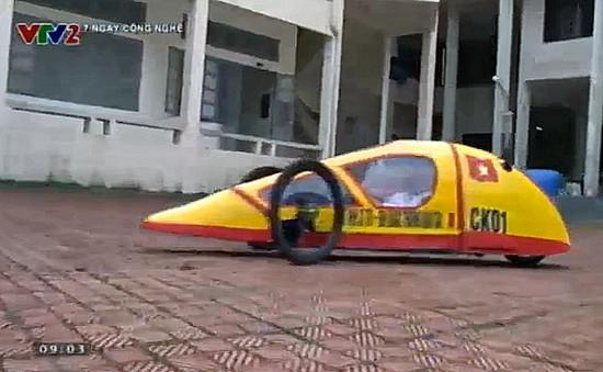 Xe tự chế chạy hơn 1.000km chỉ tốn... 1 lít xăng