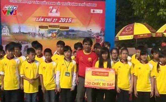 Giải đua xe đạp Cúp truyền hình TP.HCM: Thể hiện nghĩa cử nhân văn